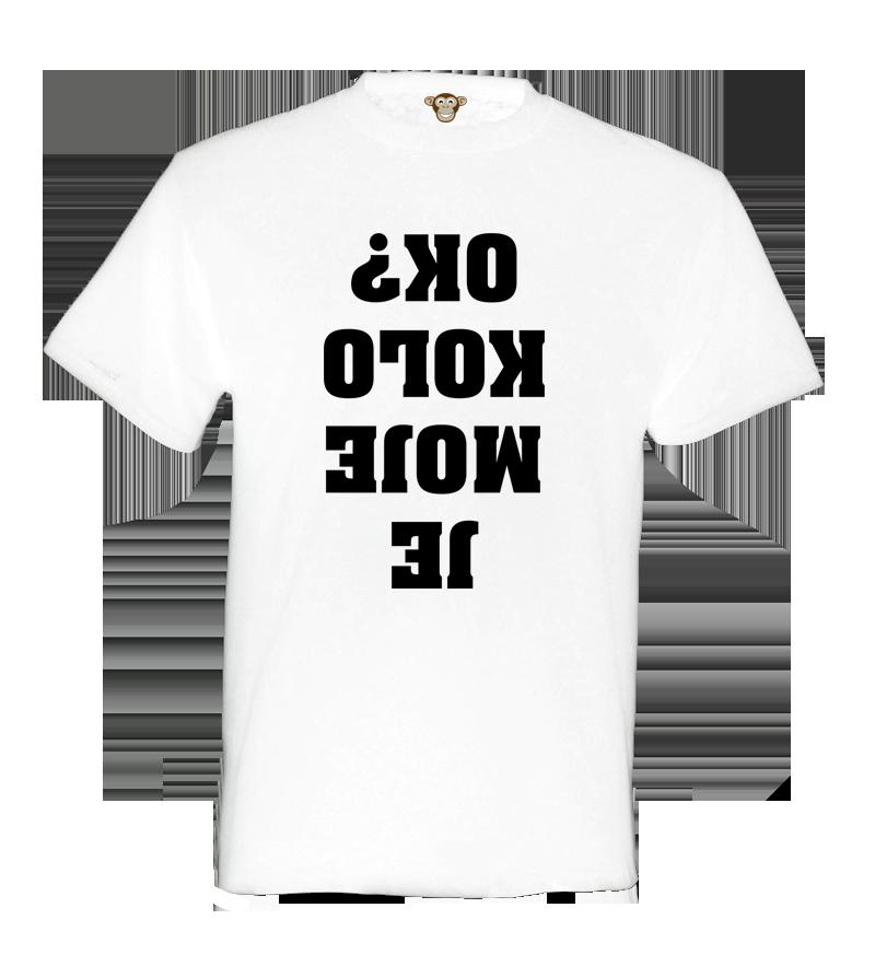 17fc028b74d0 Pánské tričko - Je moje kolo OK
