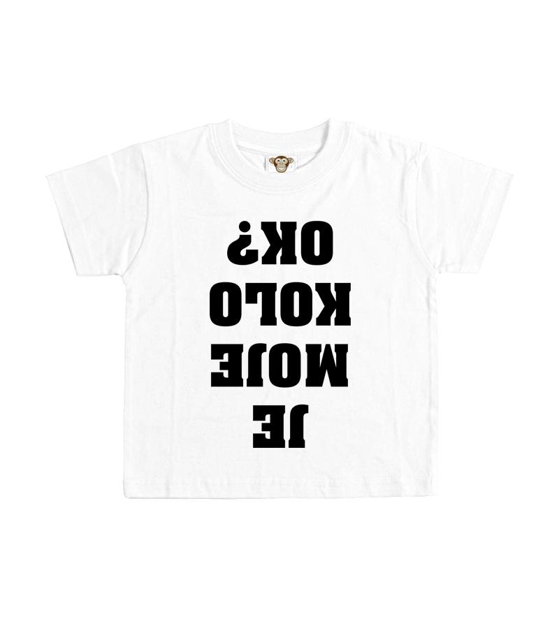426461edb1bc Dětské tričko - Je moje kolo OK